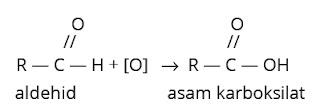 oksidasi aldehid
