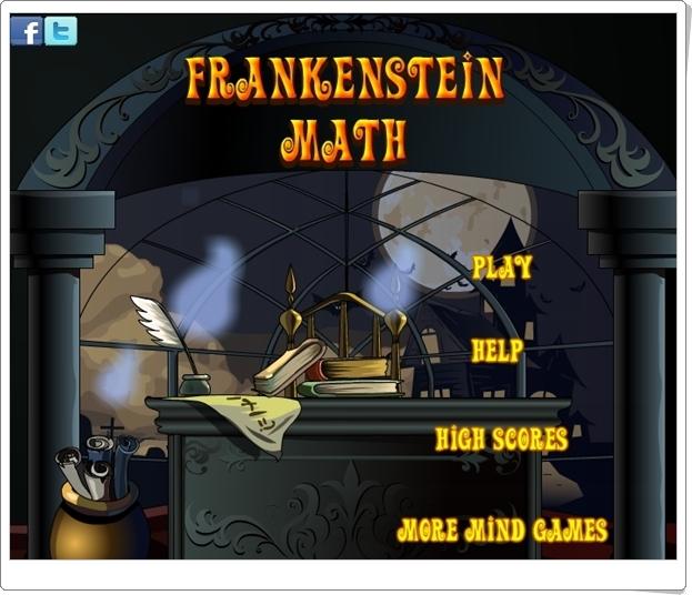 """Frankenstein Math"" (Juego de Suma de Números Enteros)"