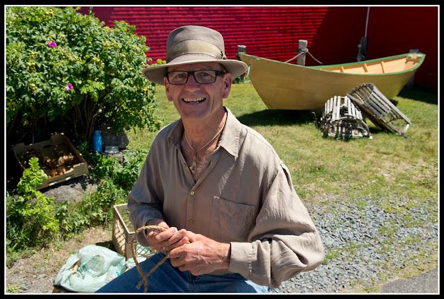 Nova Scotia; Lunenburg; Dory; Knot Man