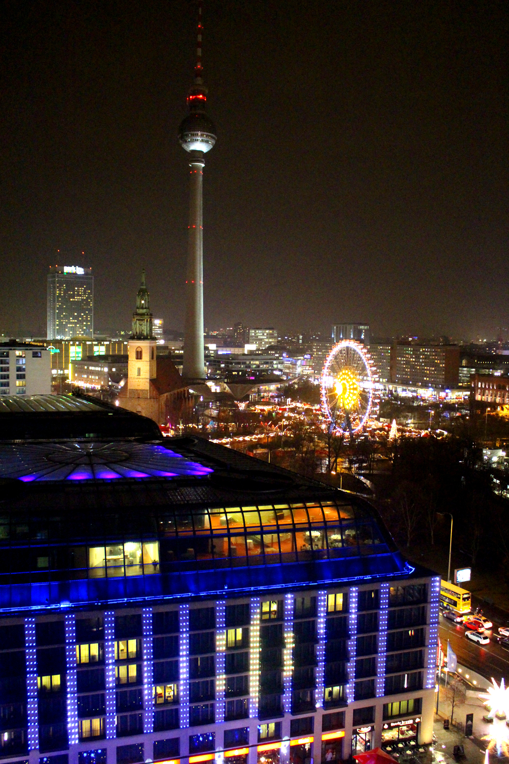 View from the Berliner Dom Cathedral in Berlin - travel & lifestyle blog