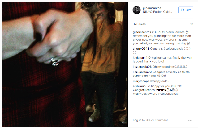 JUST NOW: Coleen Garcia And Billy Crawford Are Now Officially Engaged!