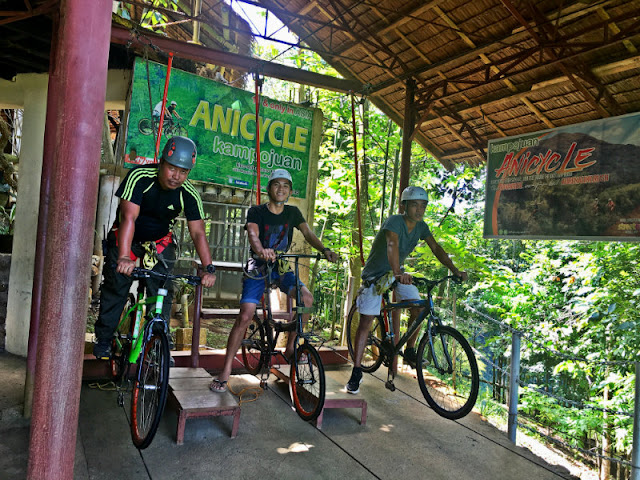 kampojuan is home to Asia's first sky biking or anicycle. The place is in Dicklum, Manolo Fortich Bukidnon