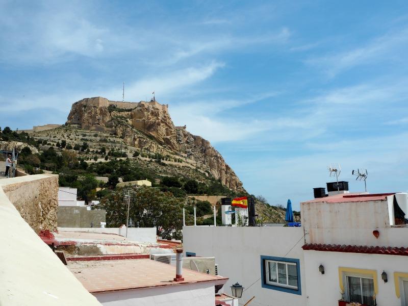 Castillo de Santa Barbara - the castle towering over Alicante
