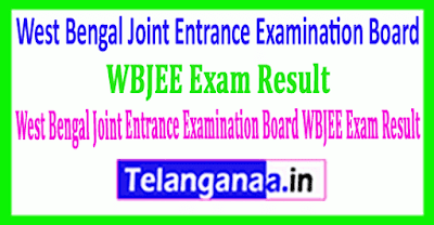 West Bengal Joint Entrance Examination Board WBJEE Exam Result