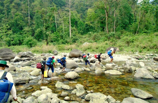 The River Trekking of North Bengal