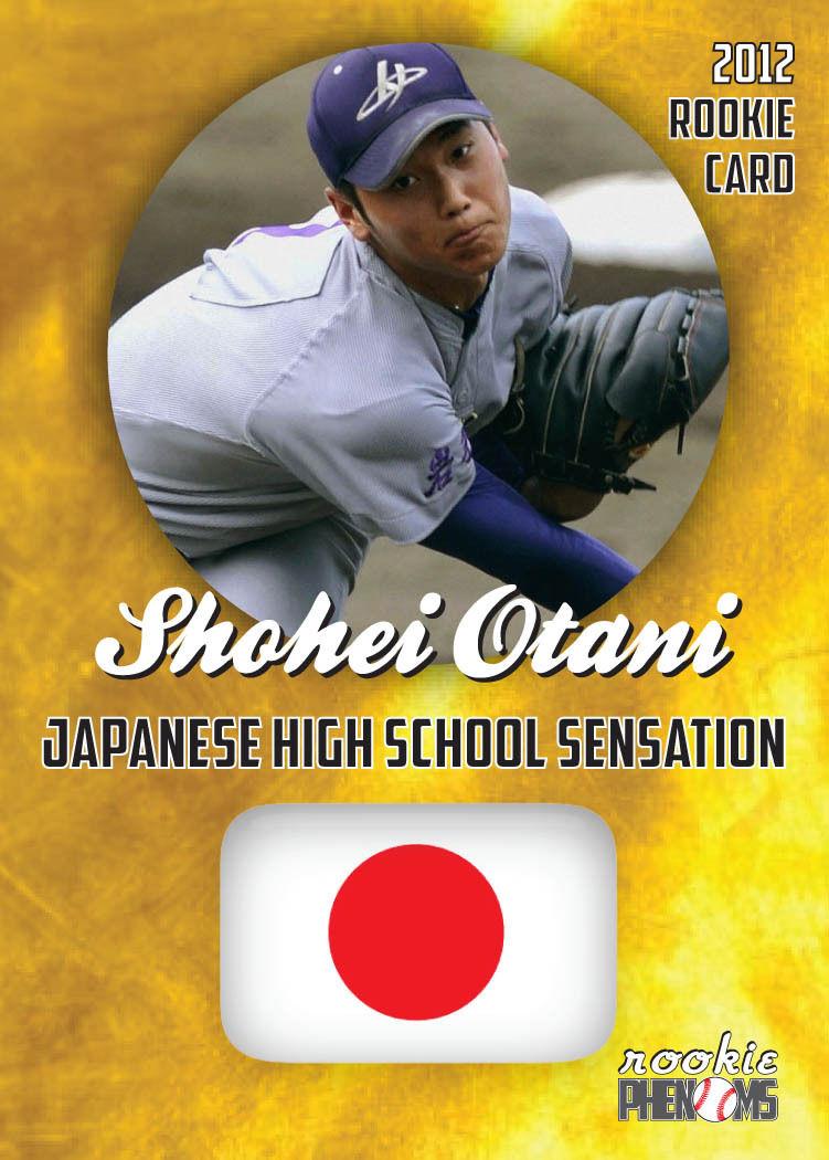 Japanese Baseball Cards Fake Ohtani Card
