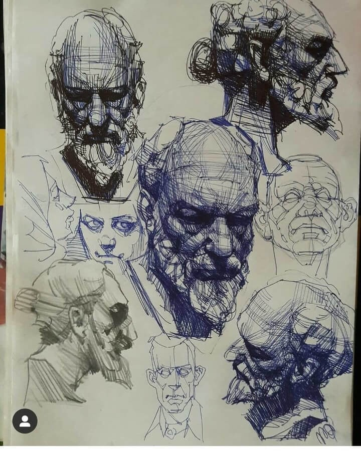 08-Ballpoint-Pen-and-Pencil-Soroush-Jahdi-Sketch-Portraits-www-designstack-co