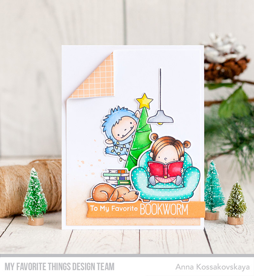Handmade card by Anna Kossakovskaya featuring products from My Favorite Things #mftstamps