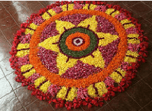 images for onam pookalam 2016