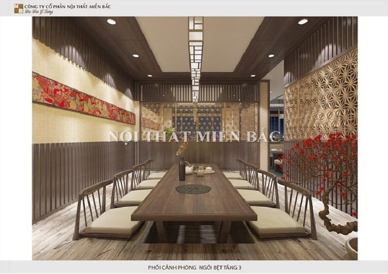 Thiết kế nội thất phong cách Nhật với gỗ đặc trưng