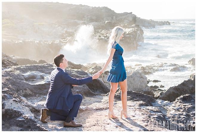 Maui Surprise Proposal Photographer