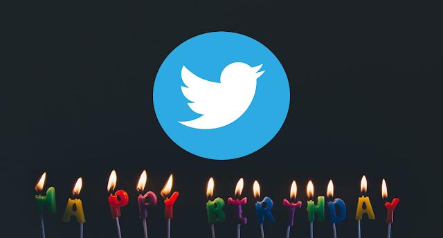Ulang Tahun di Twitter Menjadi 2007