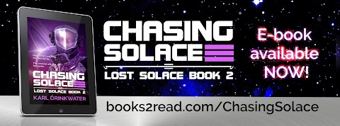 Publication Day For Chasing Solace!