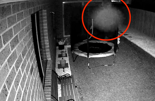 UFO SIGHTINGS DAILY: Shapeshifting Alien Orb Caught Near Window On