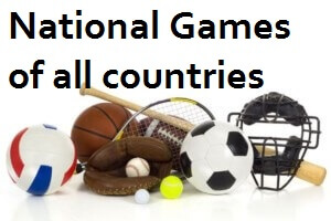 Hindi GK - national game and its country