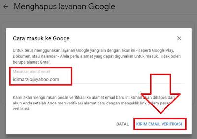 hapus akun gmail lewat hp