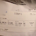 APPARENTLY YOU SHOULD NEVER THROW AWAY YOUR BOARDING PASS. THE REASON? I HAD NO IDEA!