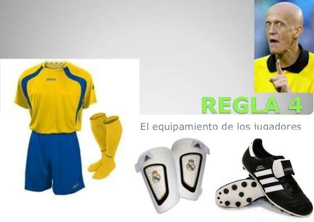 Regla No. 4 de fútbol soccer