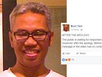Buni Yani : Saya salah Kutip Video Ahok soal Al Maidah 51, Ini kutipan yang Benar