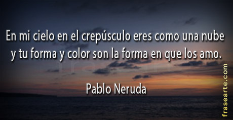 Pablo Neruda - citas de amor