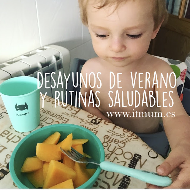 DESAYUNOS DE VERANO Y RUTINAS SALUDABLES