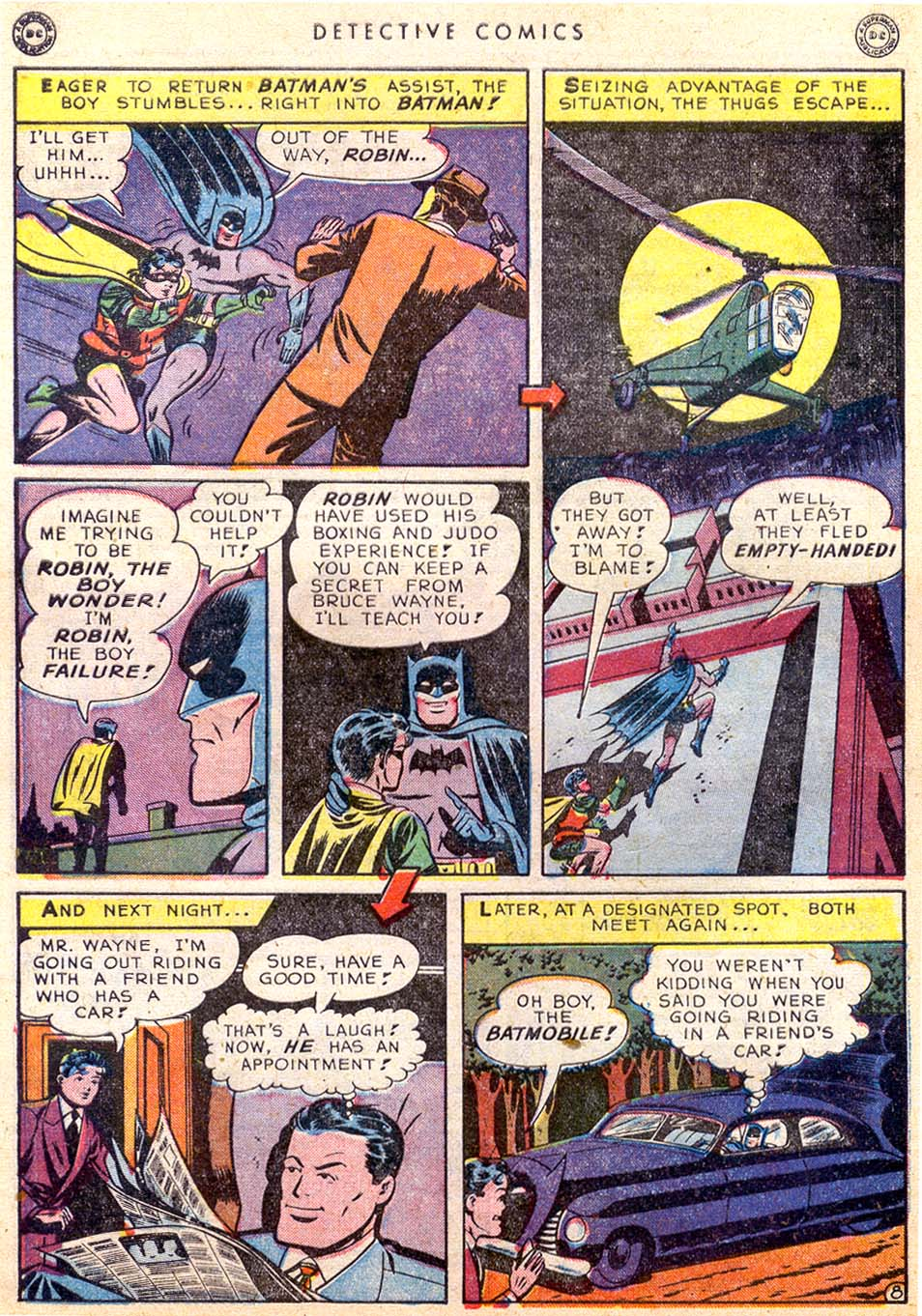 Read online Detective Comics (1937) comic -  Issue #145 - 10