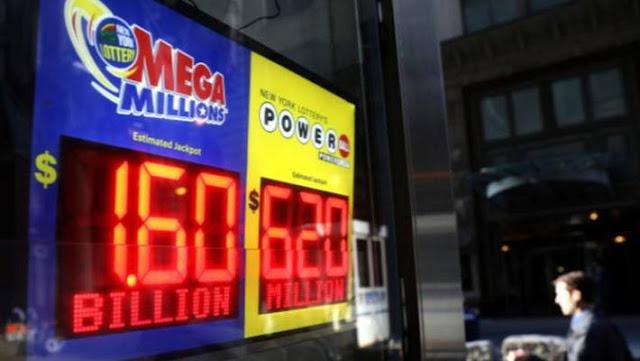 Xổ số Mega đã thiết lập kỷ lục với giải thưởng 1,6 tỷ USD
