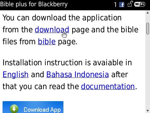 bible plus blackberry download