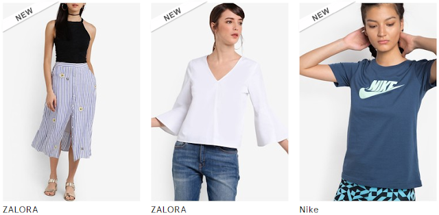 List of Zalora Philippines Women's Clothing Top Brands