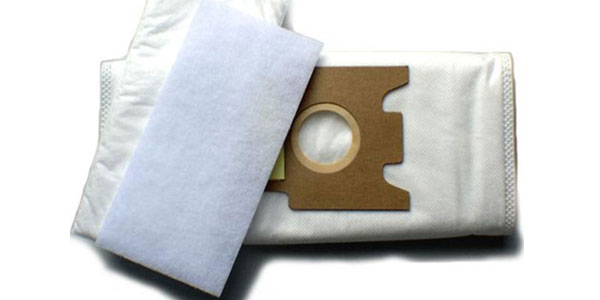 túi lọc máy hút bụi bằng vải