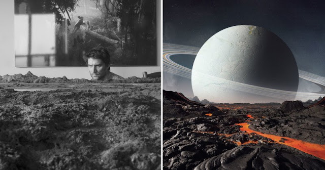 Stüdyoda Gezegen Fotoğrafları