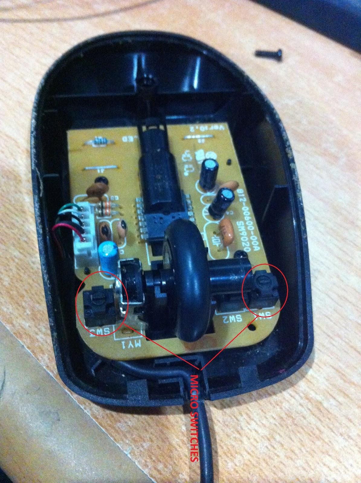Cara Memperbaiki Mouse Yang Rusak : memperbaiki, mouse, rusak, CARA:, MEMPERBAIKI, MOUSE, MICRO, SWITCHES, RUSAK, KURANG, SENSITIF