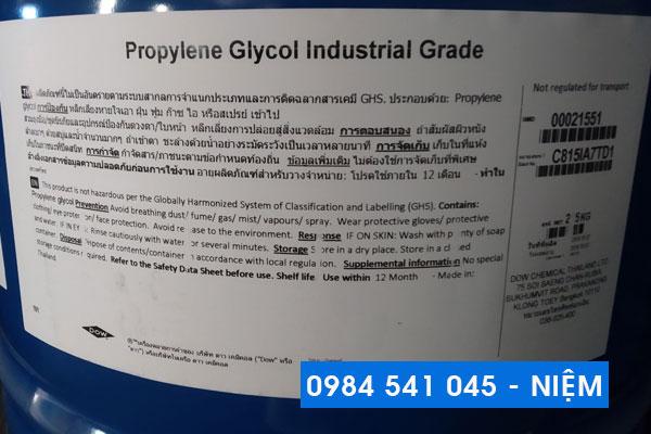 Dung môi PG công nghiệp