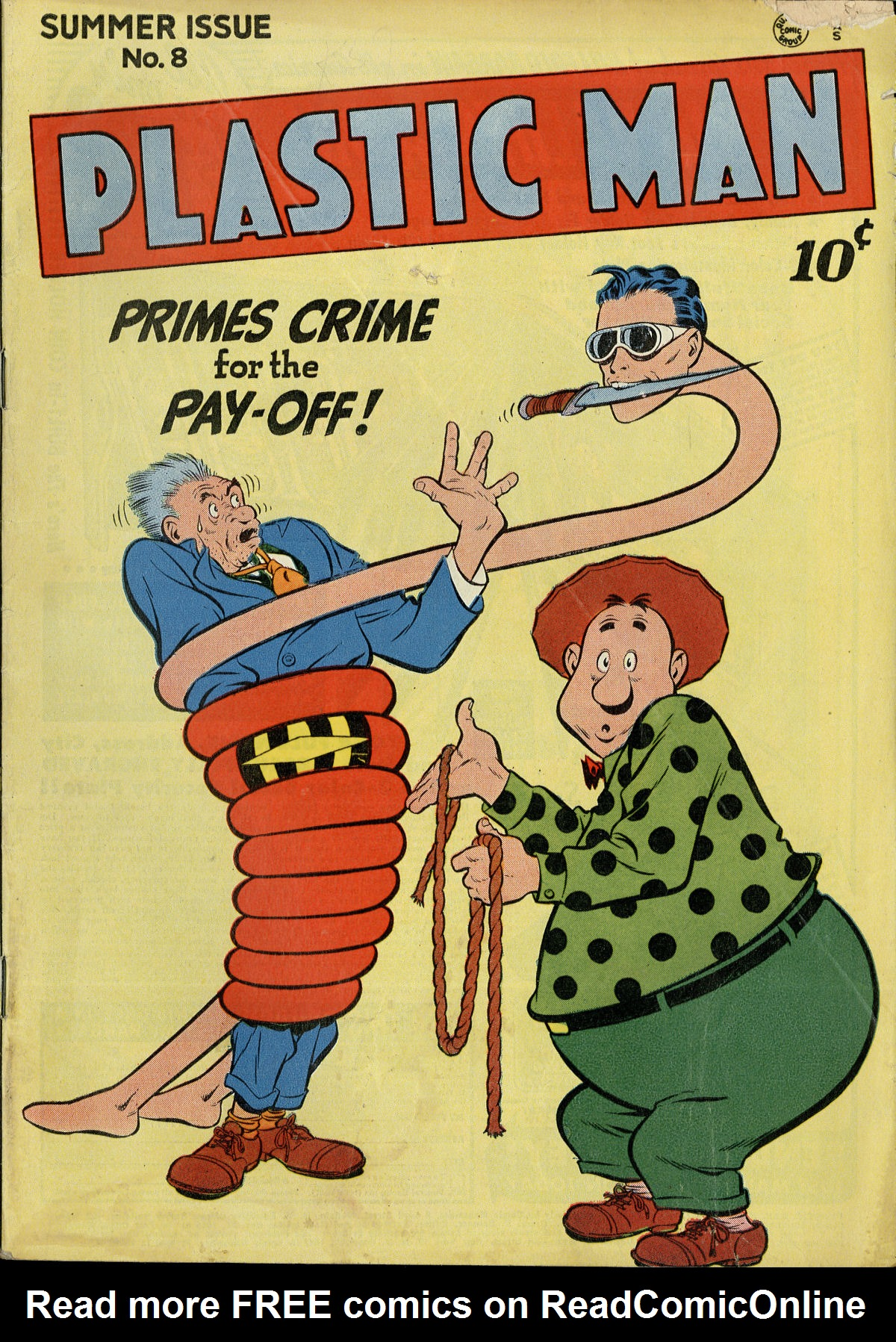 Plastic Man (1943) 8 Page 1
