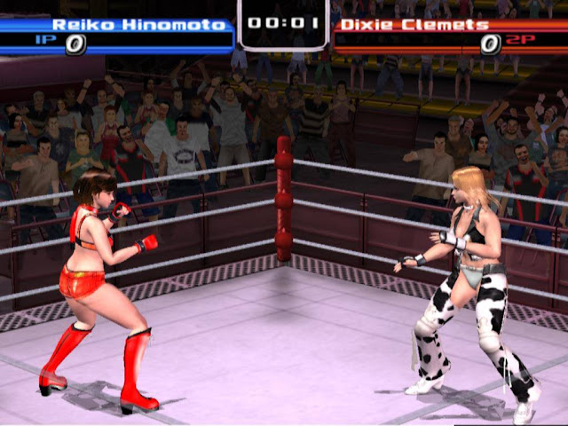 Rumble Roses PS2 GAME ISO Gameplay