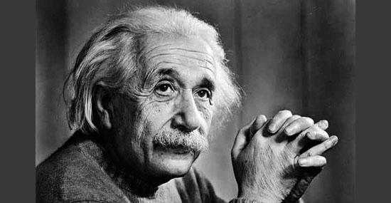 Fracasso dos Famosos - Albert Einstein