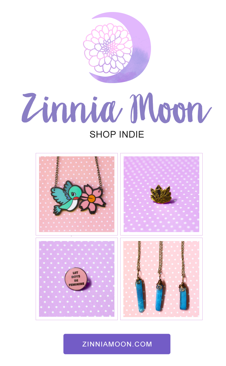 Zinnia Moon Indie Arts and Crafts