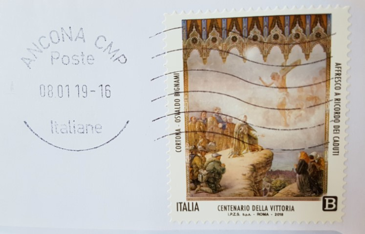 Bignami Centenario della vittoria italiana nella I guerra mondiale