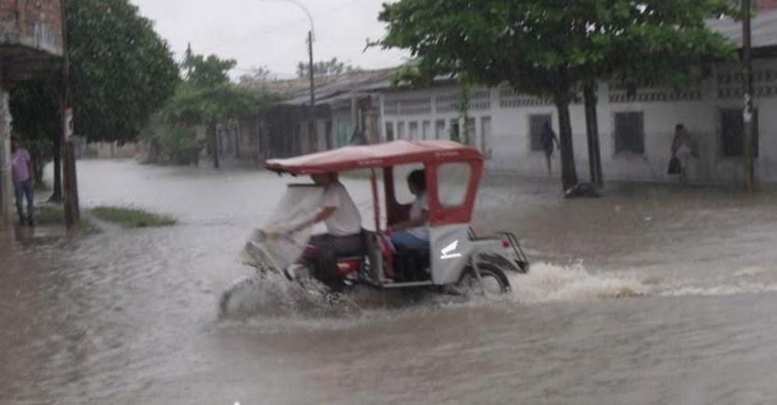 83 provincias soportan lluvias intensas desde esta tarde, informó el SENAMHI - www.senamhi.gob.pe