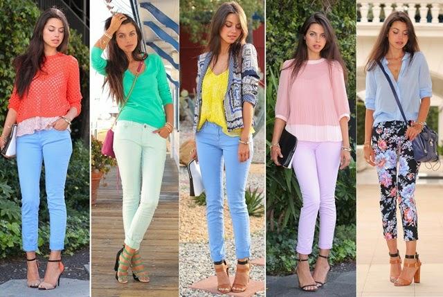 De Par com a Moda  Muito estilo em looks com calça jeans 8dd8809c7cc27