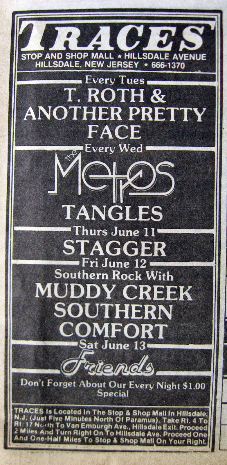 Traces band line up 1981