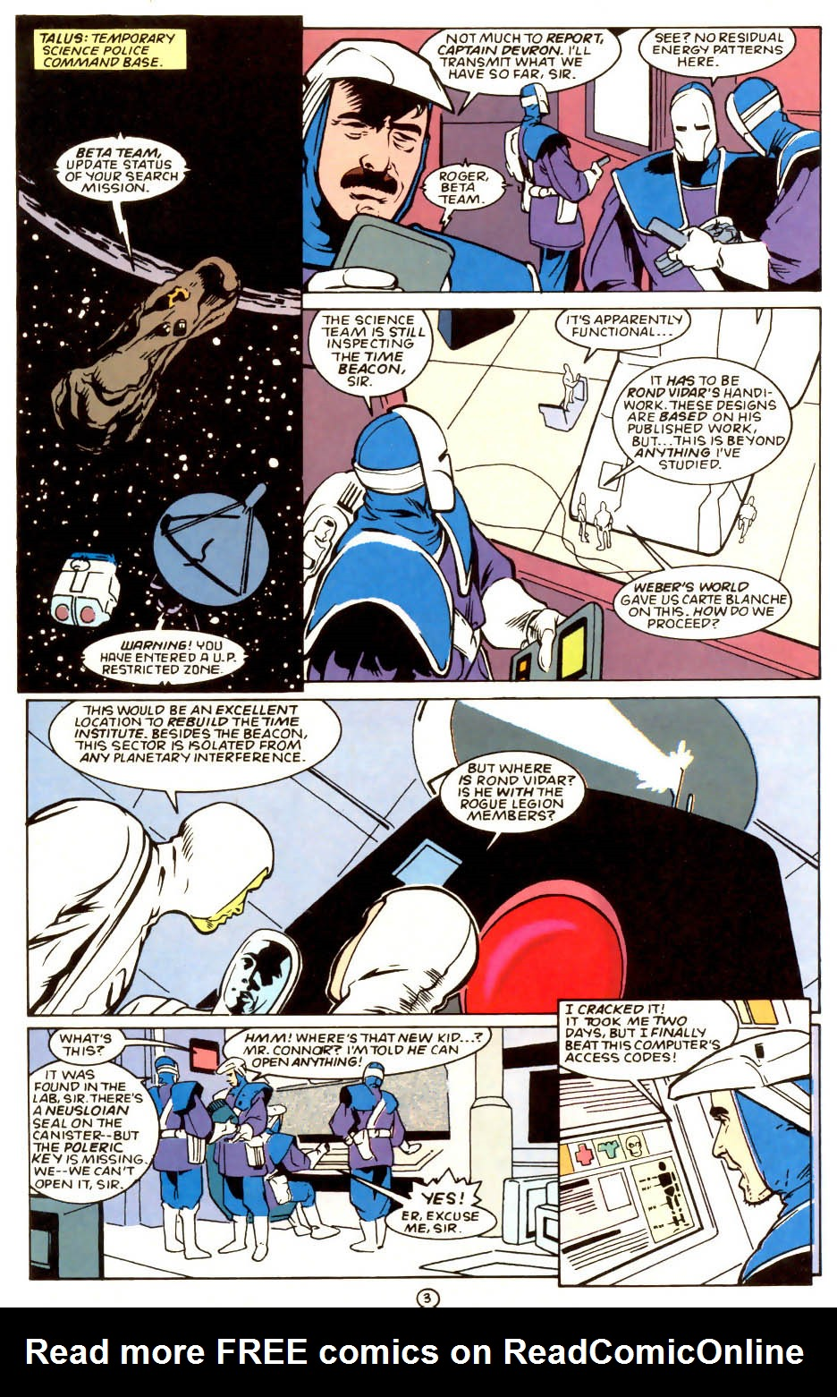 Legion of Super-Heroes (1989) 56 Page 3