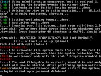 """Cara Memperbaiki """"File System Check of The root Filesystem Failed"""" Tidak Dapat Mendeteksi Filesystem di Debian 7 Menggunakan VirtualBox"""