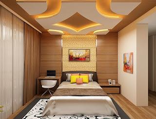 صور ديكورات جبس غرف نوم  عصري