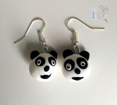 Pendientes-de-Panda-Ideadoamano