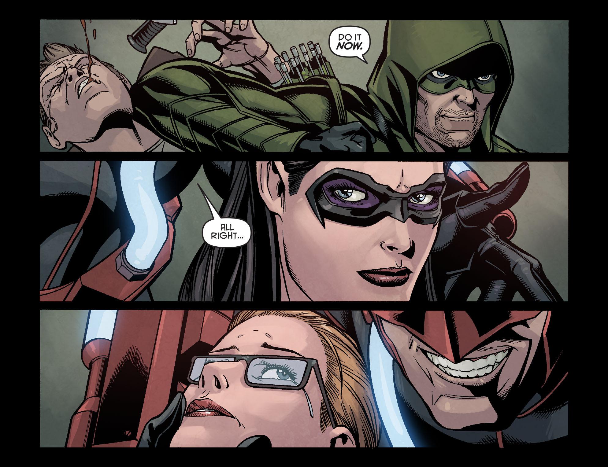 Read online Arrow: Season 2.5 [I] comic -  Issue #16 - 4