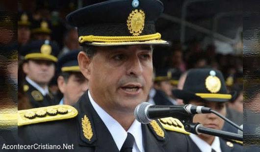 Discurso de policia cristianao Marcelo Lami