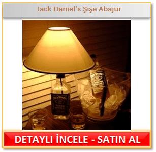 Jack Daniel's Şişe Abajur