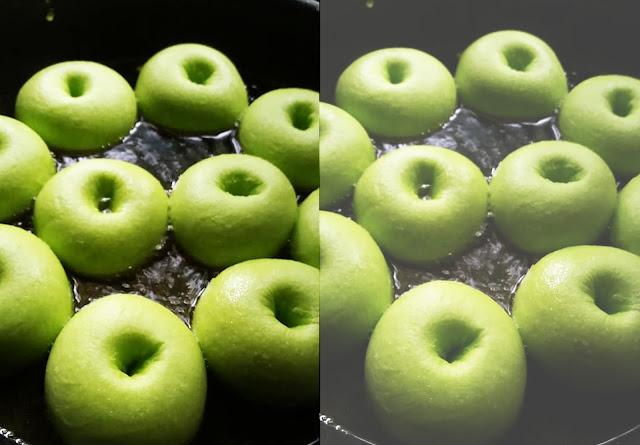 Resepi Donut Apple Hijau