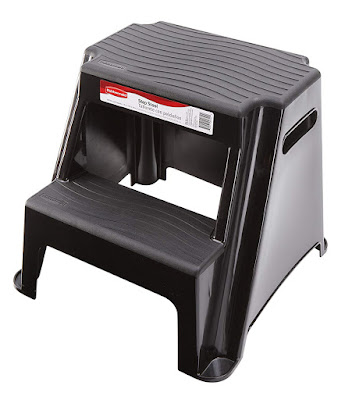 molded plastic step stool